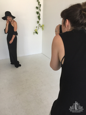 Behind the Scenes | Studio Portrait Session